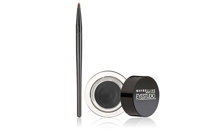 Best Kajals and Kohl Pencils in India - Maybelline New York Eye Studio Lasting Drama Gel Eyeliner