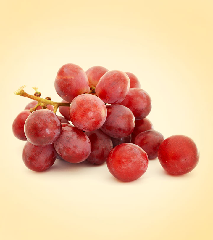 14 Best Benefits Of Red Grapes For Skin, Hair And Health
