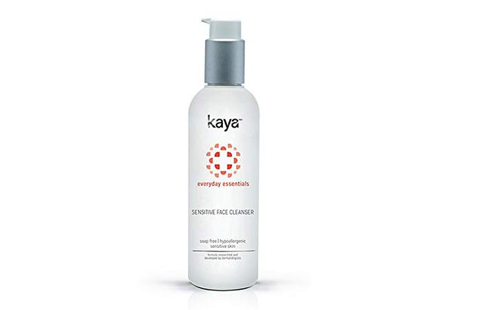 13. Kaya Skin Clinic Face Cleanser For Sensitive Skin