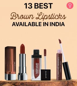 13 Best Brown Lipsticks Available in India