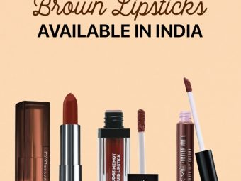 13 Best Brown Lipsticks Available In India1