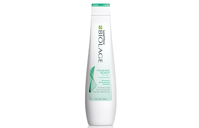 13. Matrix Biolage Cooling Mint ScalpSync Shampoo