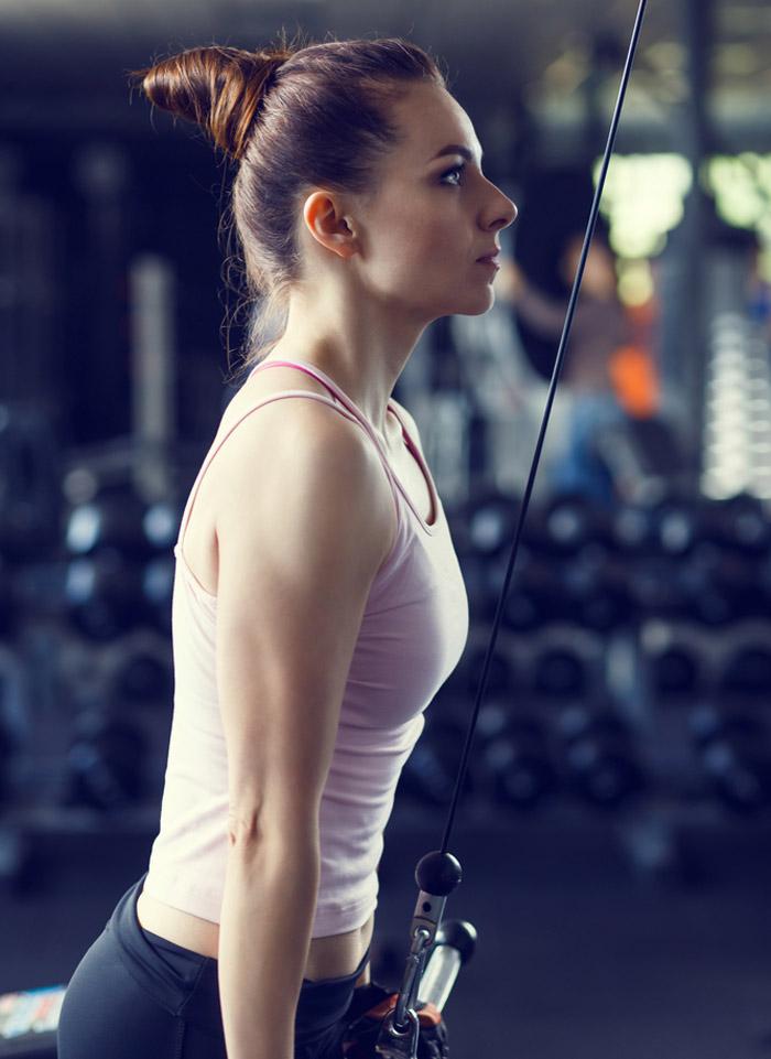 Triceps Exercises - Reverse Grip Triceps Pushdown