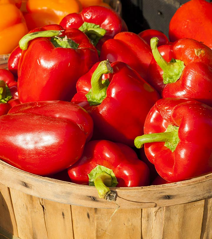 15 Best Benefits Of Red Bell Pepper For Skin, Hair And Health