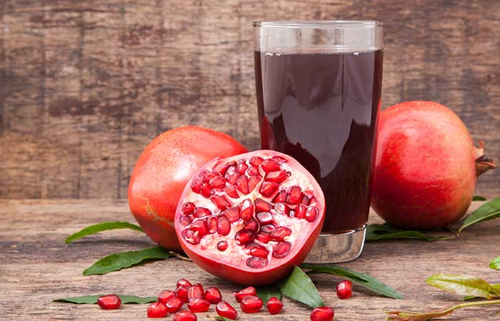 15. Pomegranate Juice