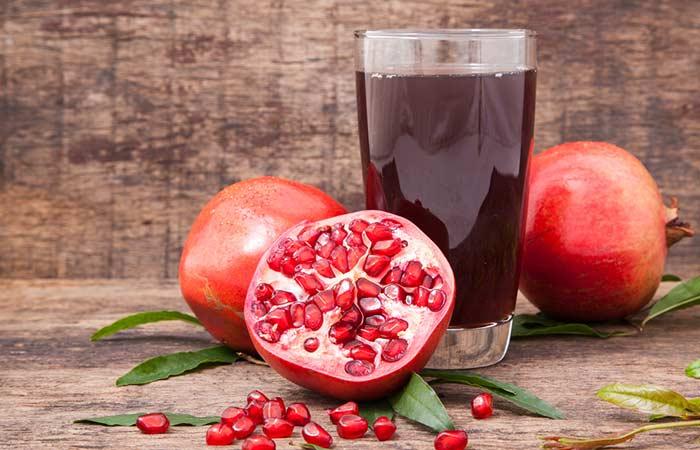 15. Pomegranate Juice