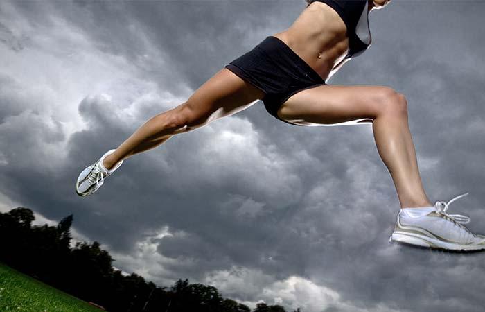 Benefits Of Running - Tones The Legs