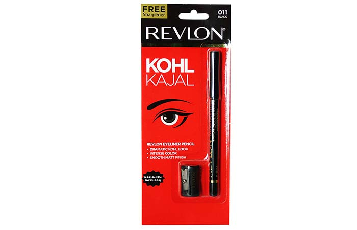 Best Kajals and Kohl Pencils in India - 17. Revlon Eye Liner Pencil