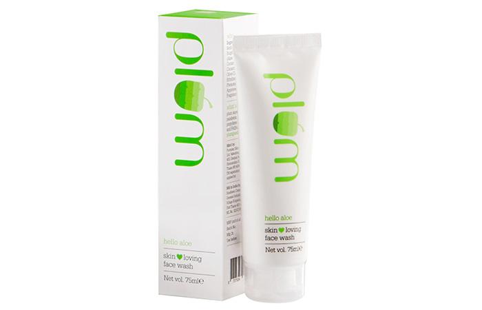 2. Plum Hello Aloe Skin Loving Face Wash