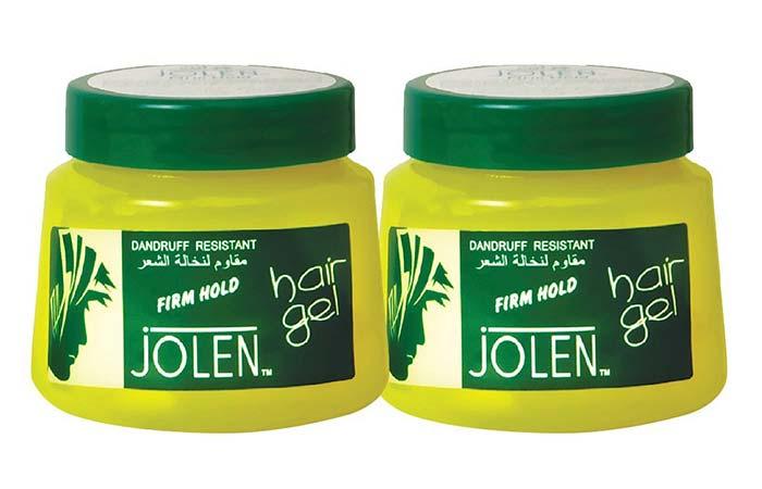 2. Jolen Firm Hold Hair Gel