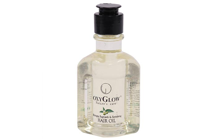 2. OxyGlow Nature's Care Bhringraj Regrowth And Revitalizing Hair Oil