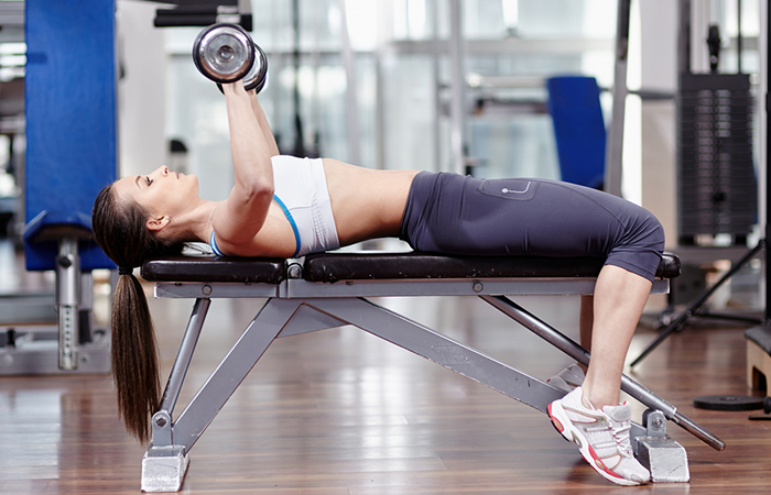 Triceps Exercises - Skull Crushers Or Lying Triceps Extension