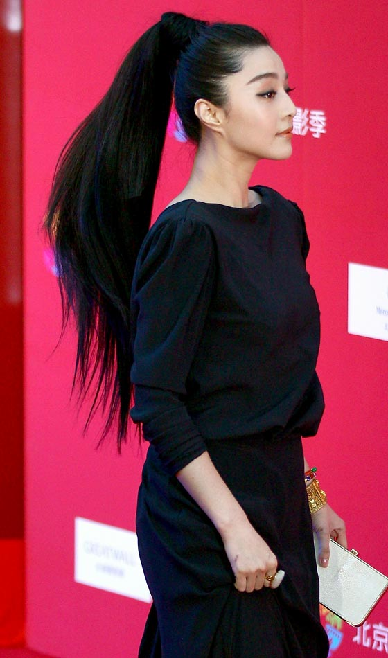 chinese hair bun - 560×950