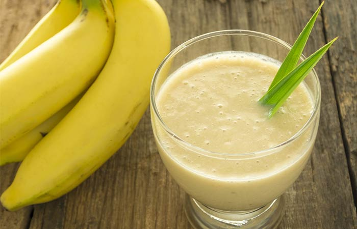 Best Juices For Healthy And Glowing Skin - Banana Juice