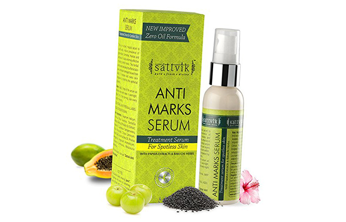 Acne And Pimple Creams - Sattvik Anti Marks Serum