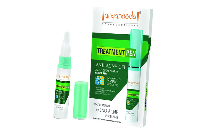 Acne And Pimple Creams - Aryanveda Anti Acne Treatment Gel Pen