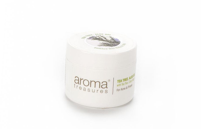 Acne And Pimple Creams - Aroma Treasures Tea Tree Aloe Gel
