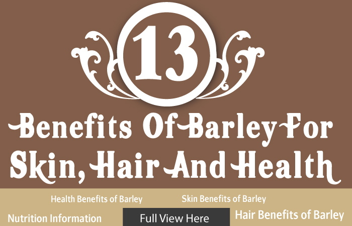 25 Best Benefits Of Barley (Jau) For Health, Skin, And Hair-1