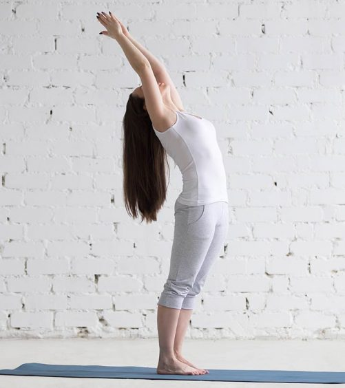 How To Do TheUrdhva Hasthasana And What Are Its Benefits