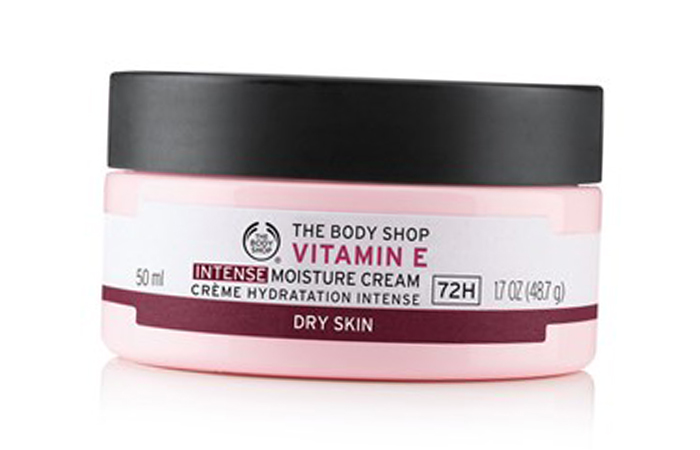 Face Creams For Dry Skin - The Body Shop Vitamin E Intense Moisture Cream
