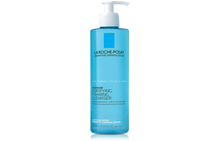 4. La Roche-Posay Toleriane Purifying Foaming Cleanser