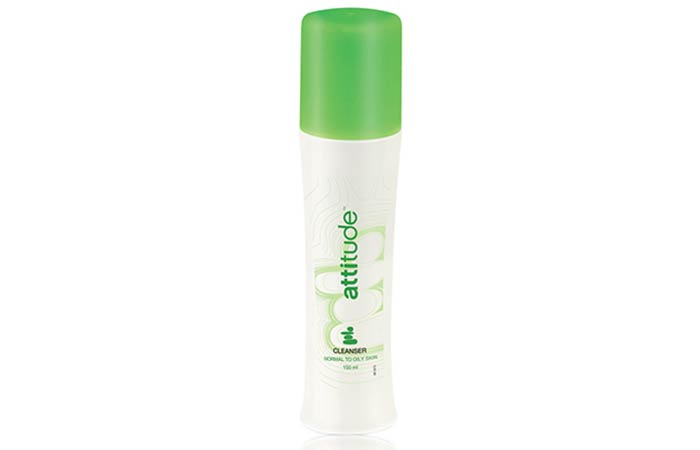 4. Amway Attitude Cleanser For Oily Skin