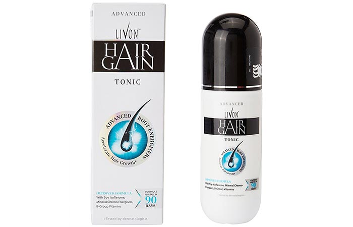 4. Livon Hair Gain Tonic