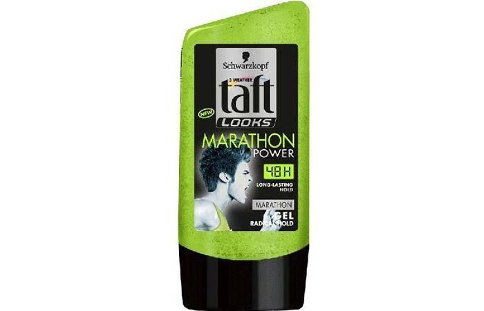 4. Schwarzkopf Taft Looks Marathon Power Gel