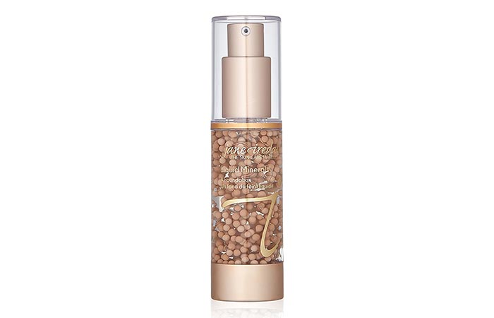 5. Jane Iredale Liquid Minerals Foundation