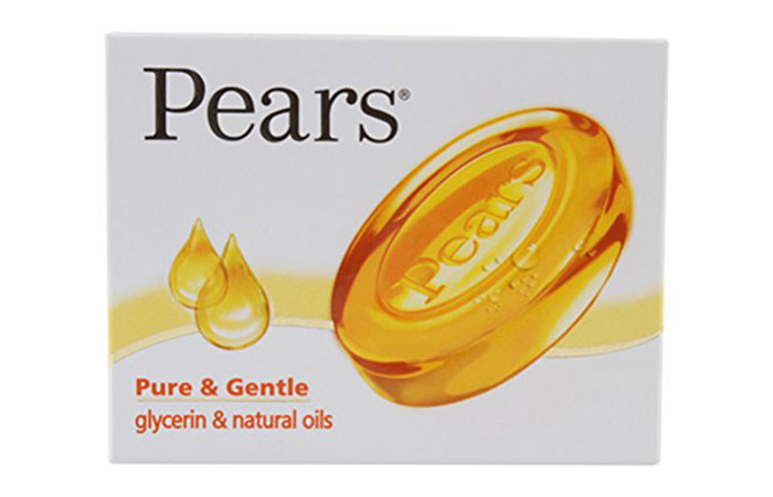 5. Pears Pure and Gentle Soap Bar