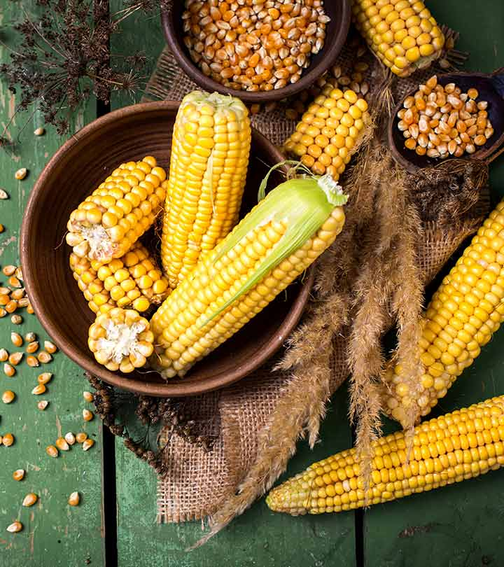6 Health Benefits of Corn & Nutrition facts