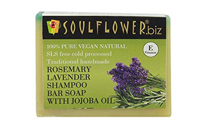 6. Soulflower Pure Tea Tree Soap