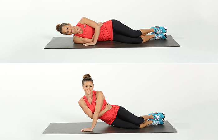 Triceps Exercises - Triceps Side Push-Ups