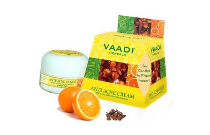 Acne And Pimple Creams- Vaadi Herbals Anti Acne Cream