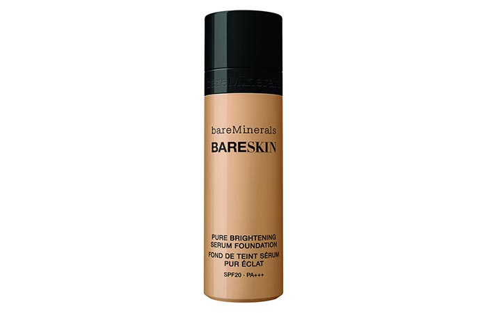 6. bareMinerals Bareskin Pure Brightening Serum Foundation