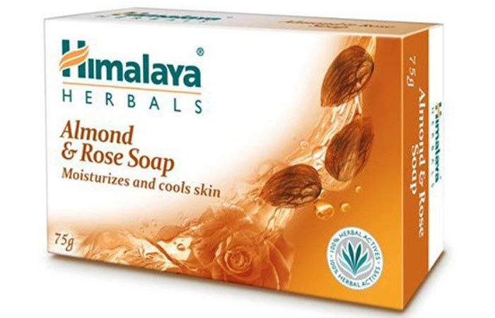 6.Himalaya Herbals Almond & Rose Soap