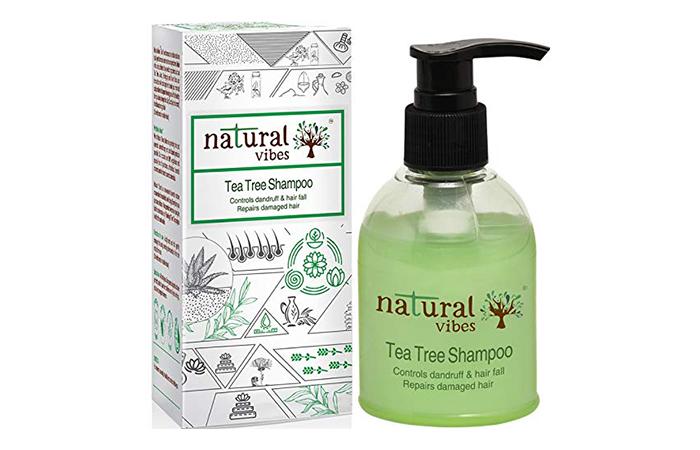 6Natural Vibes Tea Tree Shampoo