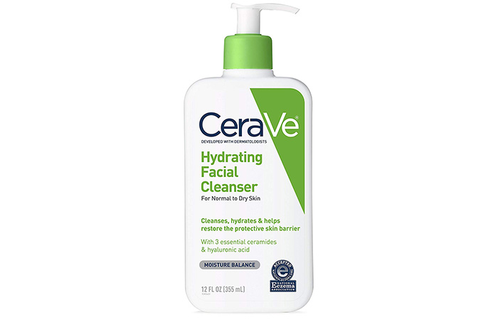 7. CeraVe Hydrating Facial Cleanser