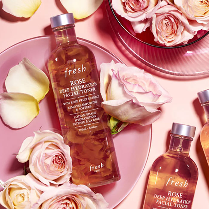7. Fresh Rose Deep Hydration Facial Toner