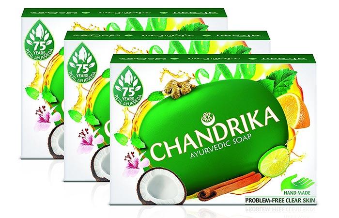 Best Ayurvedic Soaps - Chandrika Ayurvedic Soap