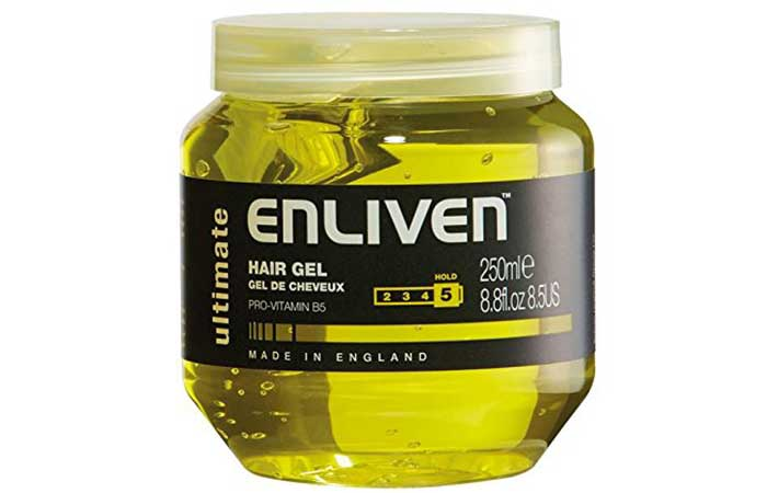 7. Enliven Ultimate Hair Gel