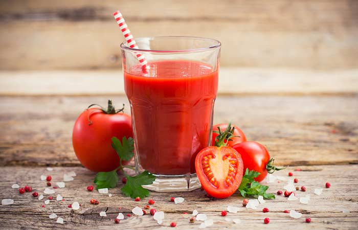 Best Juices For Healthy And Glowing Skin - Tomato Juice