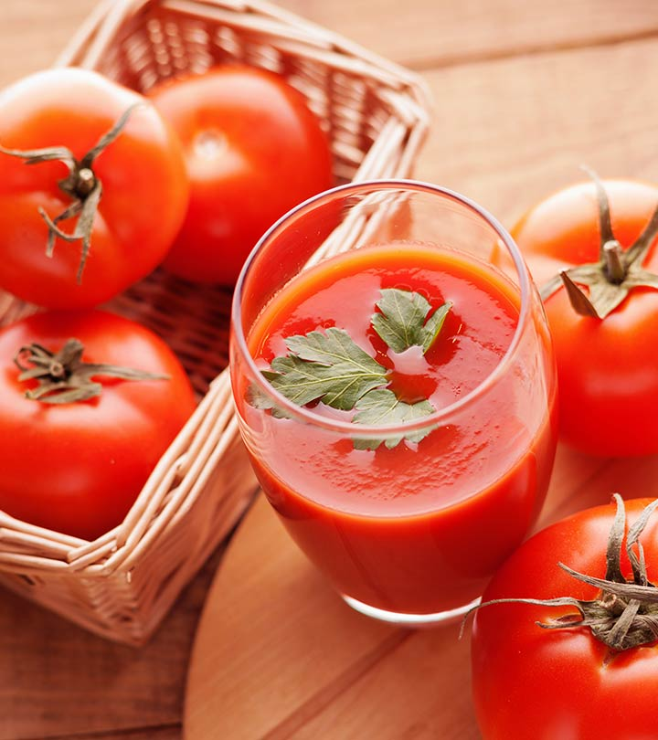 10 Best Benefits Of Tomato Juice For Skin Hair And Health
