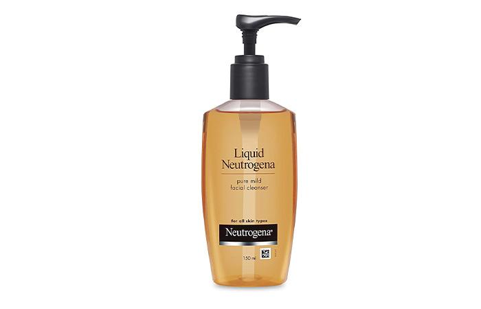 8. Neutrogena Pure Mild Facial Cleanser