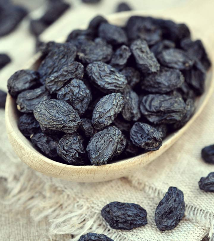 8 Amazing Benefits Of Black Raisins For Skin, Hair And Health