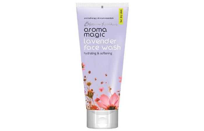 8. Aroma Magic Lavender Face Wash