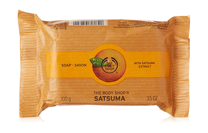 8. The Body Shop Satsuma Soap