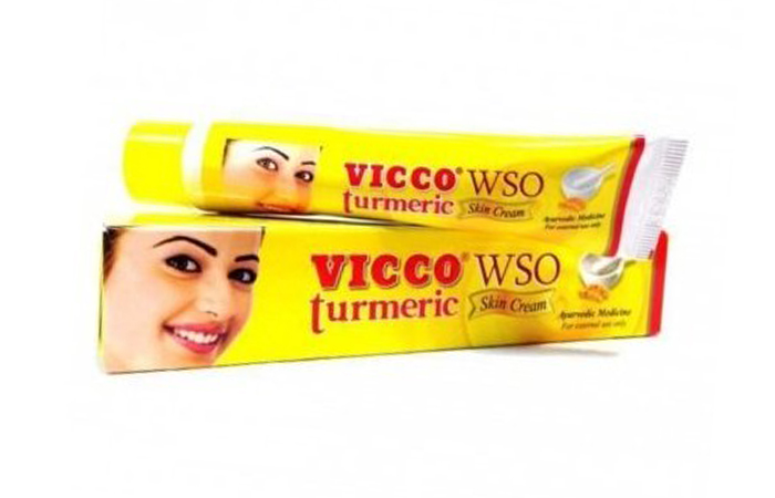 Acne And Pimple Creams - Vicco Turmeric WSO Skin Cream