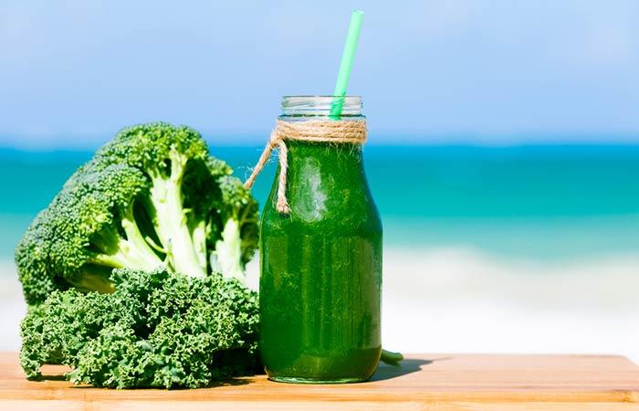 9. Broccoli Juice