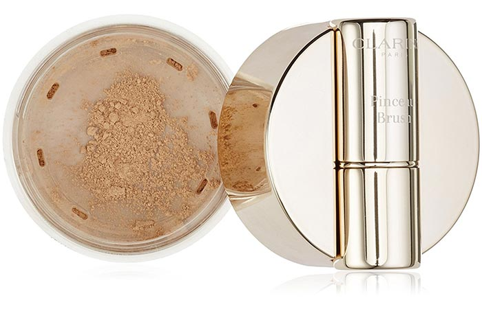 9. Clarins Skin Illusion Loose Powder Foundation